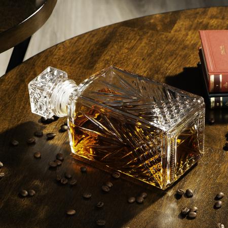 Set cadou decantor Sticla cu sase pahare Selecta [1]