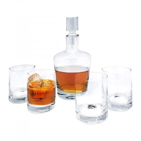 Set cadou decantor Whiskey cu 4 pahare Magnificent [0]