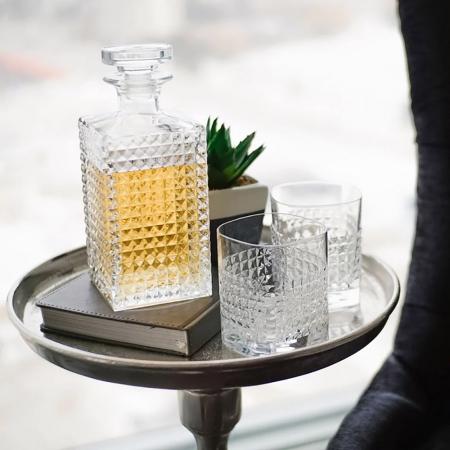 Set cadou decantor Whiskey Sticla cu 4 pahare Elixir [2]