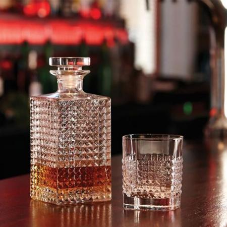 Set cadou decantor Whiskey Sticla cu 4 pahare Elixir [1]
