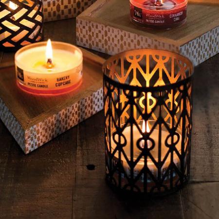 Set cadou lumanari parfumate WOODWICK Glowing Fireside [0]