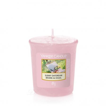 Set cadou lumanari parfumate Yankee Candle 3 votive garden hideaway purse5