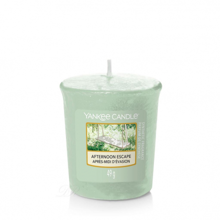 Set cadou lumanari parfumate Yankee Candle 3 votive garden hideaway purse4