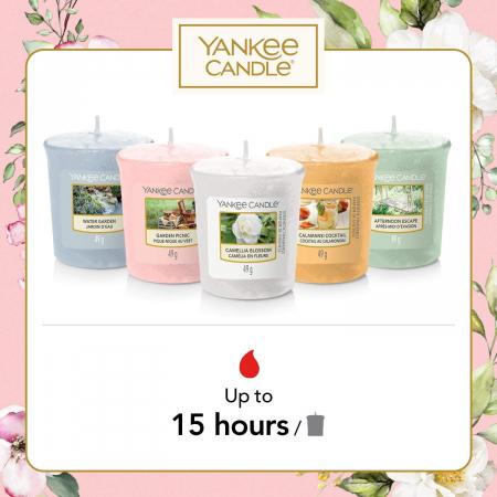 Set cadou lumanari parfumate Yankee Candle 5 votive garden hideaway1