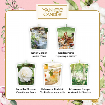 Set cadou lumanari parfumate Yankee Candle 5 votive garden hideaway2