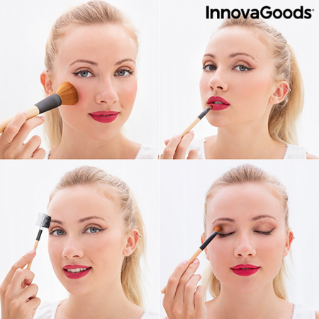 Set pensule machiaj My Make up4