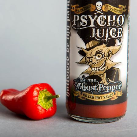 Sos iute Psycho Juice Extreme Ghost Pepper [iuteala 10+++]0