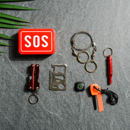 SOS Kit supravietuire multifunctional, 6 unelte [3]