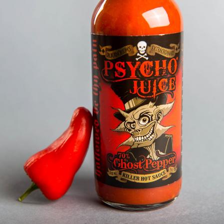 Sos picant Psycho Juice Ghost Pepper [iuteala 10+]0