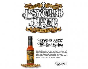 Sos picant Psycho Juice Red Savina Pepper [iuteala 9]5