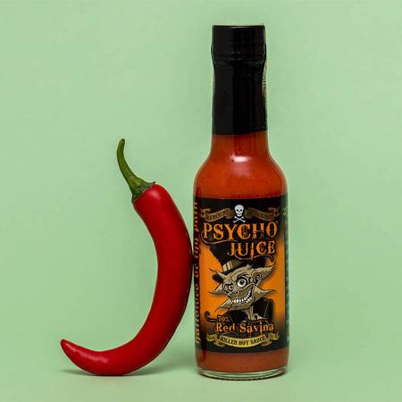 Sos picant Psycho Juice Red Savina Pepper [iuteala 9]0