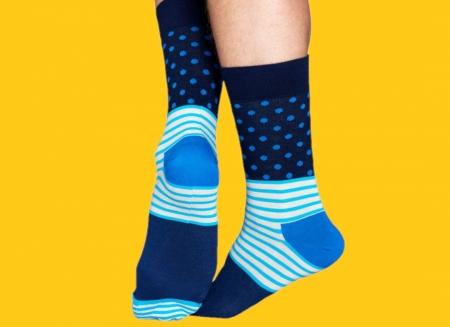 Sosete Happy Socks albastre funky1