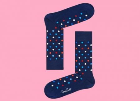 Sosete Happy Socks cu buline colorate1