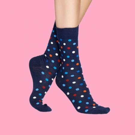 Sosete Happy Socks cu buline colorate0