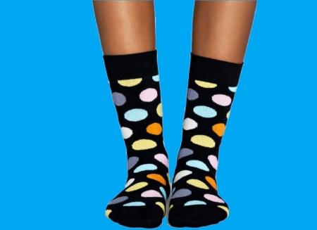 Sosete Happy Socks cu buline vesele2
