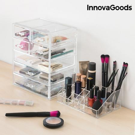 Organizator cosmetice machiaj cu 16 compartimente Makeup Dream1