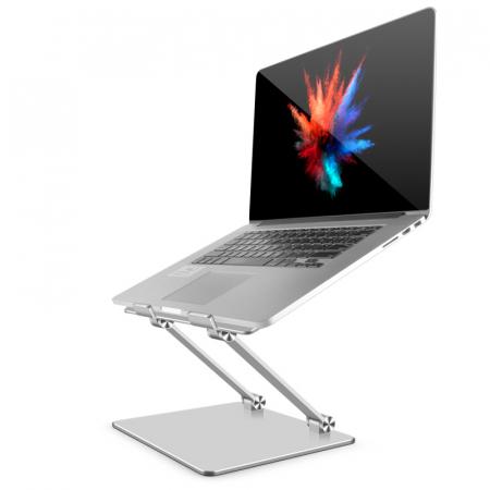 Suport masuta laptop pliabil si reglabil, din aluminiu [0]