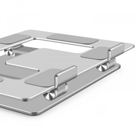 Suport masuta laptop pliabil si reglabil, din aluminiu [14]