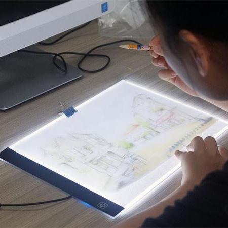 Tableta pentru desenat Led Ligh A4 Ultra-Subtire0