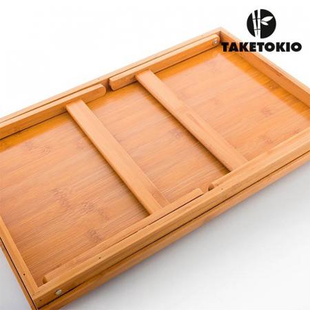 Tava din bambus Servire cu rasfat5