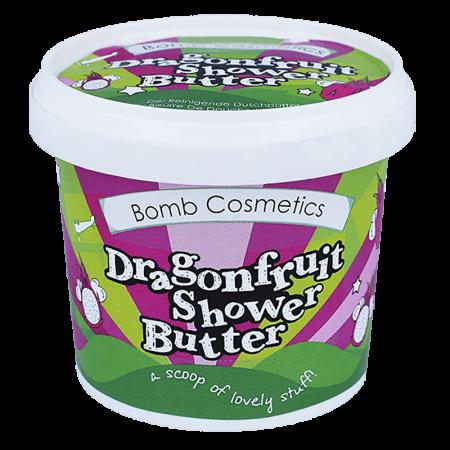 Unt de corp pentru dus Dragonfruit & Papaya Bomb Cosmetics4