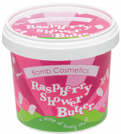 Unt de corp pentru dus Raspberry Blow Bomb Cosmetics2