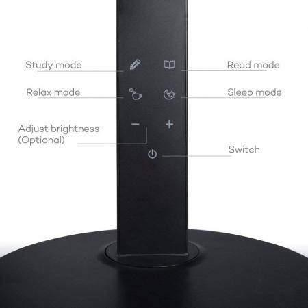 Veioza LED TaoTronics 4 moduri iluminare 600 lm2