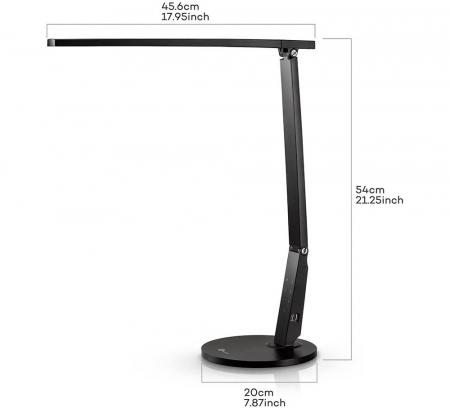 Veioza LED TaoTronics 4 moduri iluminare 600 lm5