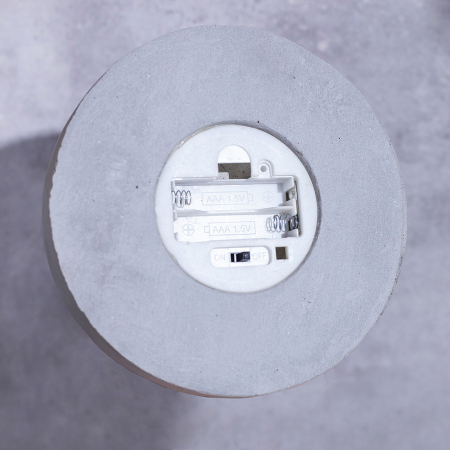 Veioza lumina beton, Minimalism [2]