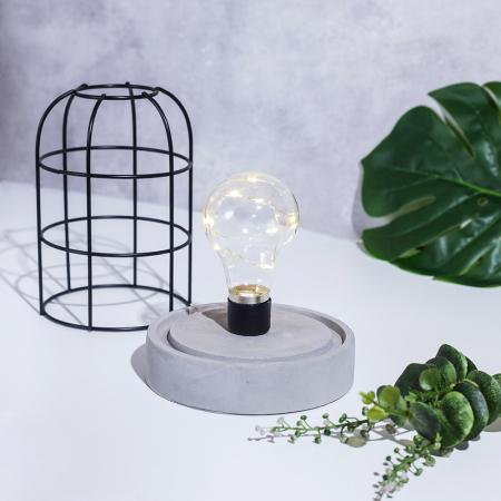 Veioza lumina beton, Minimalism [1]