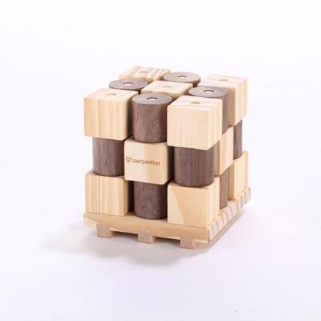 X si 0, Joc 3D din lemn4