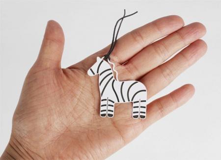 Semn de carte zebra