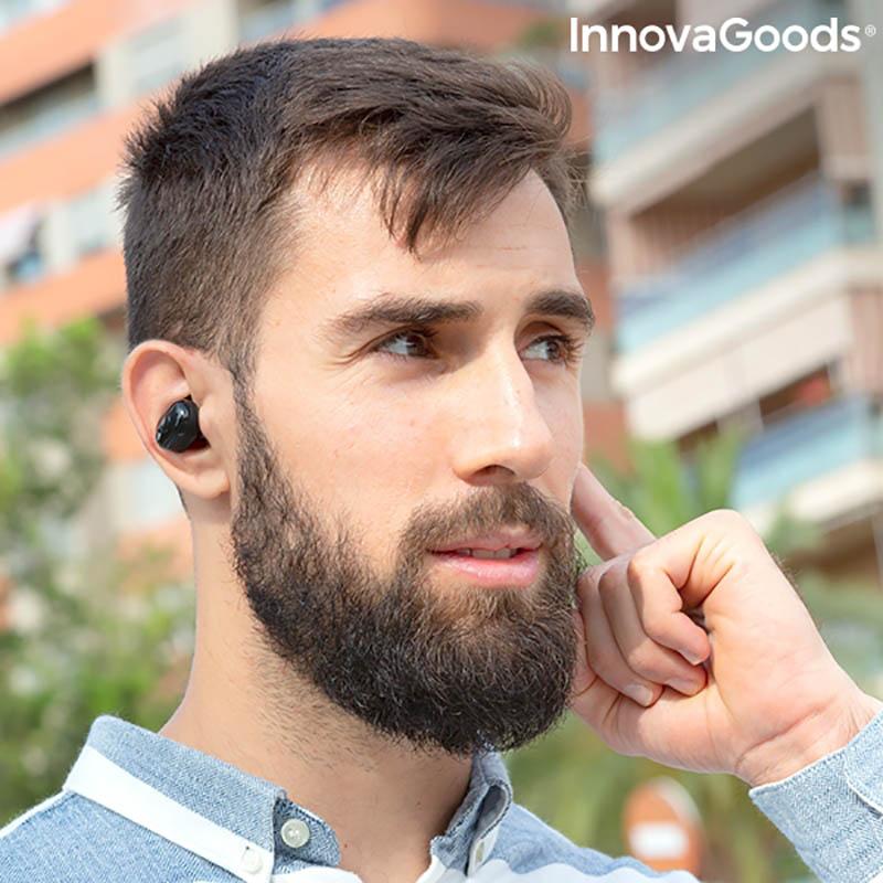 Casti wireless Ebeats cu incarcare magnetica