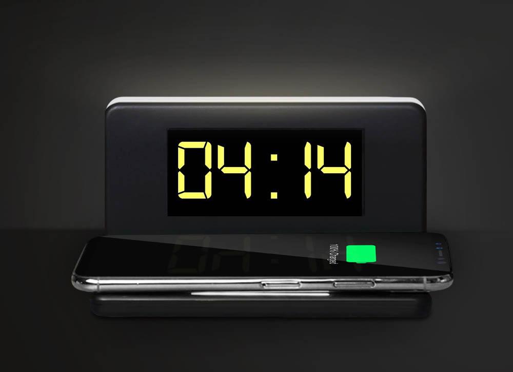 ceas cu incarcator wireless
