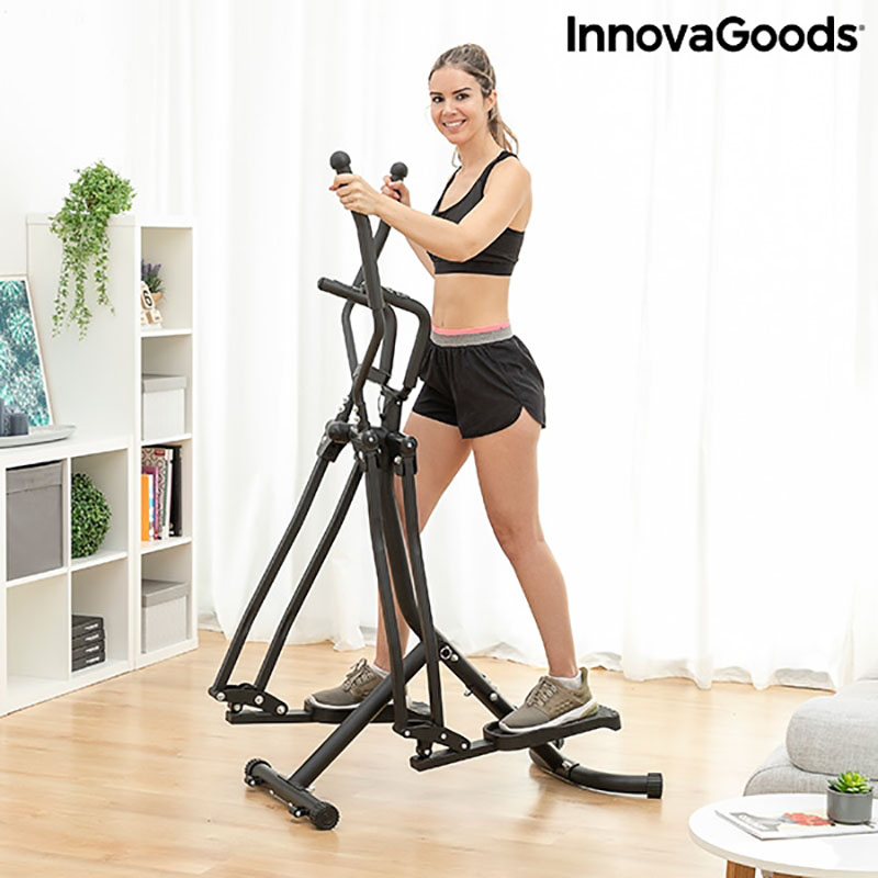 Aparat fitness eliptic Fitness Pro cu ghid de exercitii