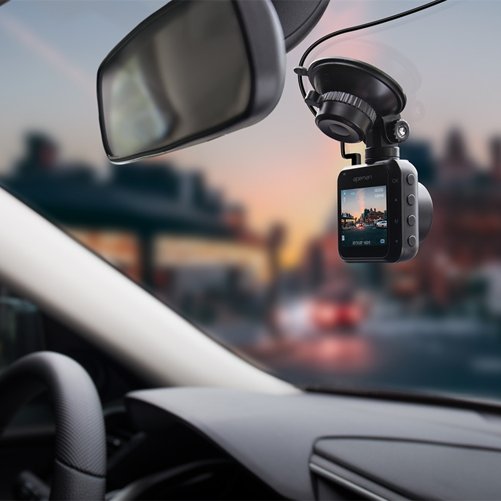 Camera auto DVR Apeman C420, Full HD, G-Sensor, Mod parcare, Filmare in bucla