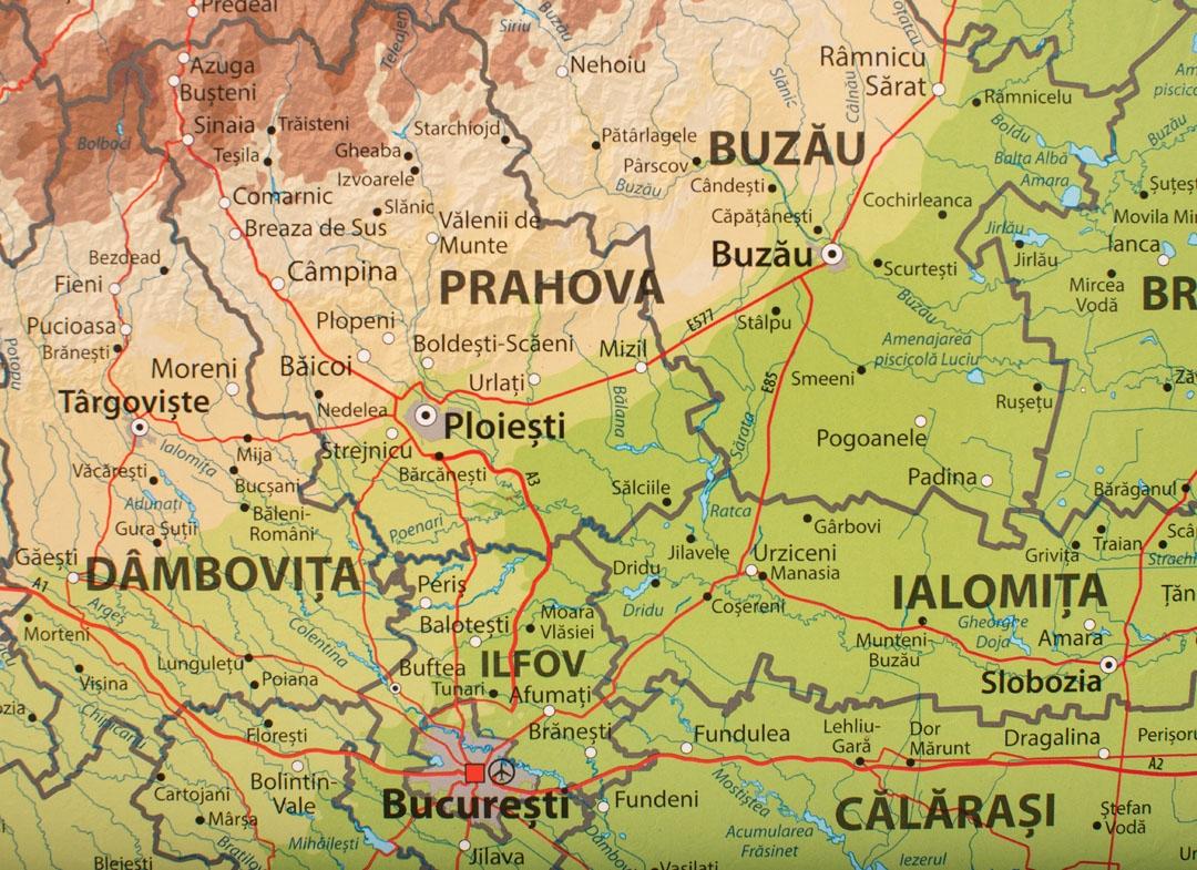 Harta Razuibila A Romaniei Mindblower Ro Cadouri Iesite Din Minti