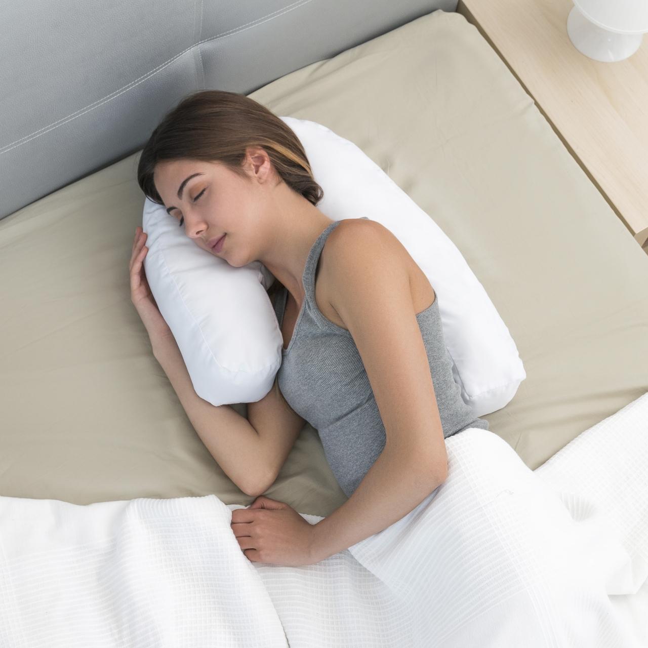 Perna ergonomica pentru dormit lateral U Style