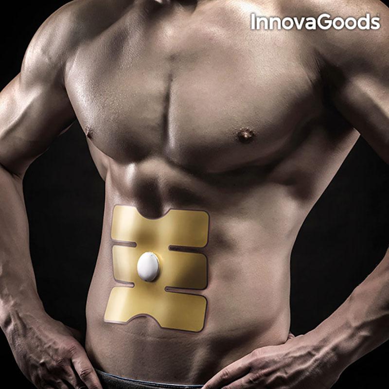 Plasture abdomen cu electrostimulare, program automat 23 minute