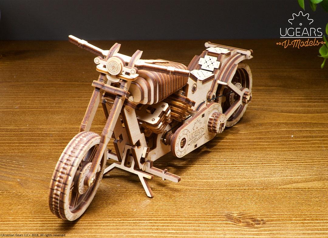 puzzle 3d motocicleta