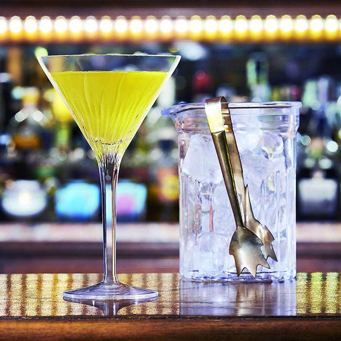 Set pahare Martini, 4 bucati