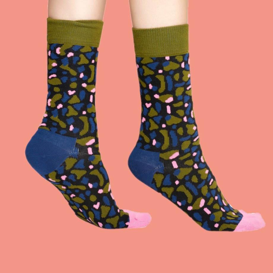 Sosete Happy Socks camuflaj Wiz Khalifa