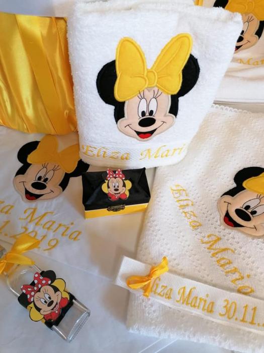 Trusou botez personalizat Yellow Minnie [1]