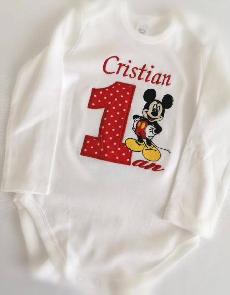Body Personalizat Mickey Mouse [0]