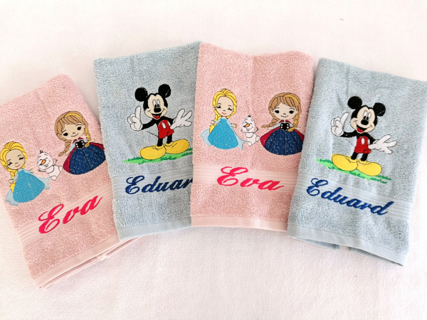 Prosop personalizat pentru gradinita Elsa si Anna [2]