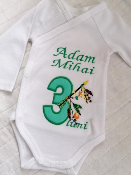 Body bebe personalizat Indian [0]