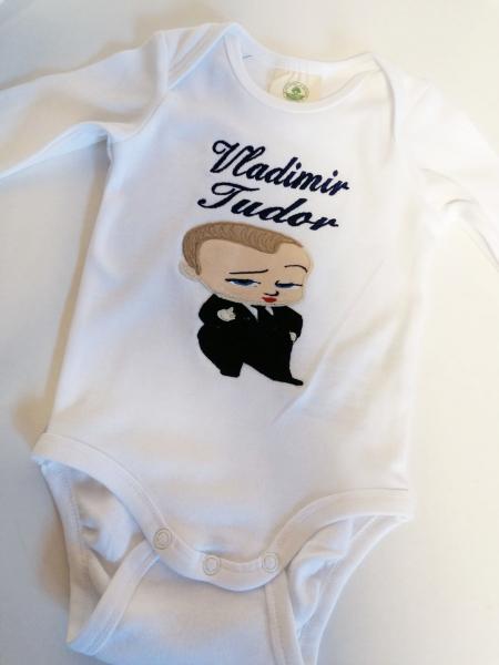 Body bebe personalizat Little Boss [0]