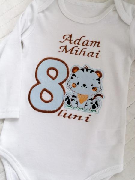 Body bebe personalizat Little Tiger [0]