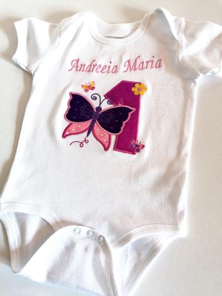Body bebe personalizat Butterfly, pentru fetite [2]
