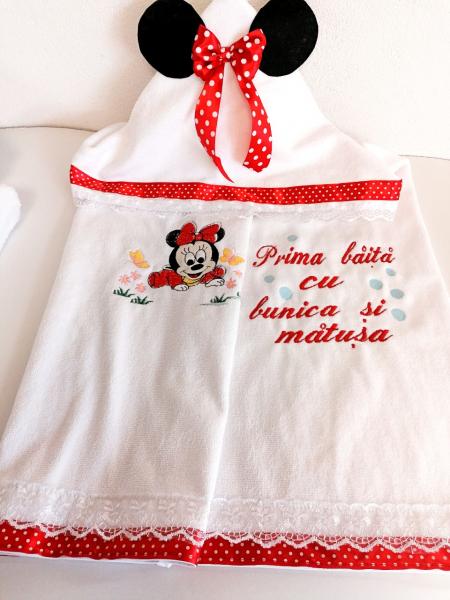 Set Personalizat Prima Baita Minnie Mouse [3]